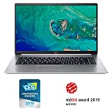 "Acer Swift 5 Ultra-Thin & Lightweight Laptop 15.6"" FHD IPS Touch Display in a thin .23"" bezel, 8th Gen Intel Core i5-8265U, 8GB DDR4, 256GB PCIe NVMe SSD, Back-lit Keyboard, Windows 10, SF515-51T-507P"