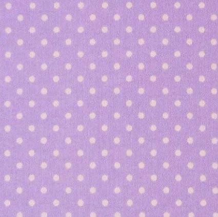 Cotton Print Small Size Polka Dot Dress-Making Craft Fabric Material 1cm Spots