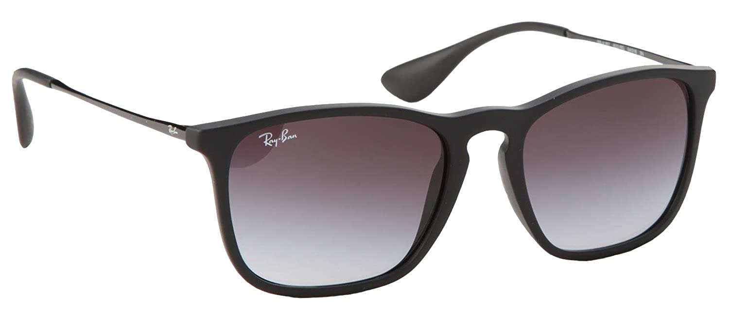 7edfd2757ae Amazon.com  Ray Ban Rb4187f Men s Chris 54mm 622 8g Sunglasses  Shoes
