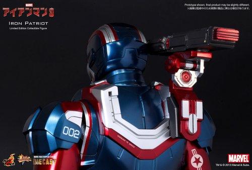 Hot Toys – Figurine – Iron Man 3 – Iron Patriot Limited Edition – 4897011175089