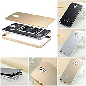Happy Hours Deluxe Extreme Shockproof Ultra-thin Super Light Weight Metal Aluminum Alloy Protective Hard Phone Case Cover For Samsung Galaxy Note 3 Note III N9000 Champagne Gold