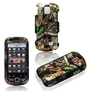 2D Camo Trunk V Samsung Intercept M910 Virgin Mobile, Sprint Case Cover Hard Phone Case Snap-on Cover Rubberized Touch Faceplates