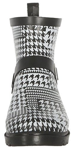 Printed Rainboot Lined Capelli Combo York Day New Ladies Umbrella White Shiny Short Sporty 1YqvUw1