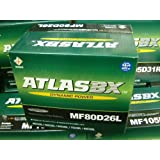 ATLAS アトラスバッテリー 80D26L【75D26Lに使えます】