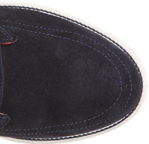 KangaROOS Secret-High - Botas de cuero hombre azul - Blau (navy/red)