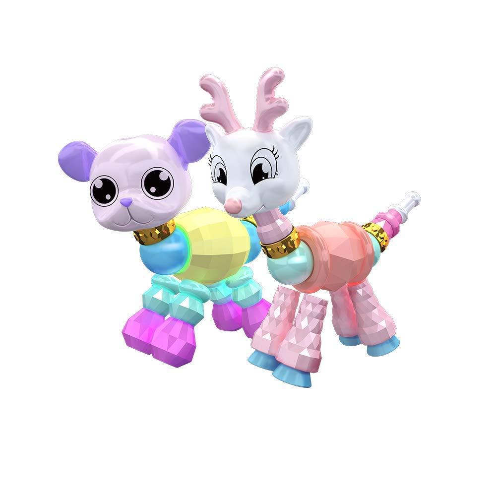 Mespoo Twisted Animal Bracelet Pack 2 pièces Ensemble de Bracelets à Collectionner pour Les Enfants, fête d'anniversaire, Jeu de Simulation fête d' anniversaire