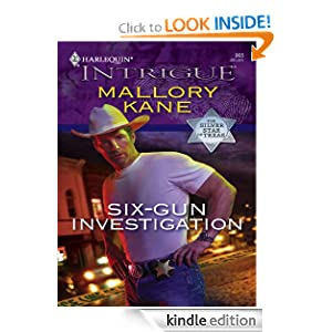 Six-Gun Investigation (Harlequin Intrigue) Mallory Kane