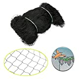 YaeKoo 25'X50' Bird Netting Fruit Tree Protective Net Soccer Baseball Fish Pests Block Poultry Aviary Pen