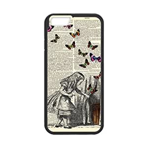 iPhone 6 Case,iPhone 6 (4.7) Case Protective,Alice in Wonderland Protection Hard Case for iPhone 6 (4.7) Soft Flexible TPU material for iPhone 6