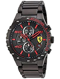 Ferrari Men's 830361 Analog Display Quartz Black Watch