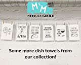 Funny Kitchen Towel, Fold In The Cheese, Flour Sack