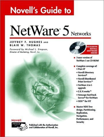 Novell's Guide to NetWare 5 Networks by Hughes, Jeffrey F., Thomas, Blair W. (1999) Hardcover by Wiley