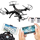 Littleice 2.4G 4CH 6 Axis RC Drone With Wifi HD FPV Camera Remote Control Quadcopter + Extra Battery