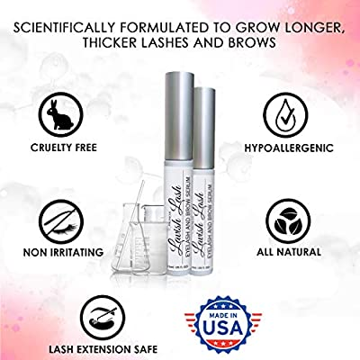 Pronexa Hairgenics Lavish Lash – Eyelash Growth Enhancer & Brow Serum with Biotin & Natural Growth Peptides for Long…
