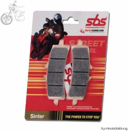 SBS Bremsbelag VORNE HS-Sinter Triumph 1050 Sprint ST Bj 2005