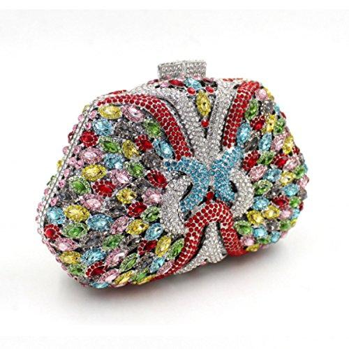 Femmes De Sac Main à A Luxe Pour Diamant à En En Main Diamant Sac T0qCx