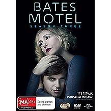 Bates Motel Season 3 | NON-USA Format | PAL | Region 4 & 2 Import - Australia
