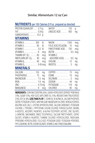 Similac Alimentum Hypoallergenic Infant Formula for Food Allergies and Colic, Baby Formula, Powder, 12.1 ounces, 6 Count by Similac (Image #7)