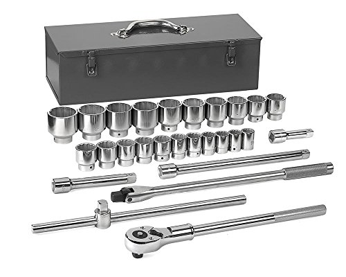 GEARWRENCH  80880 3/4-Inch Drive 12 Point Socket Set, 27-Piece ()