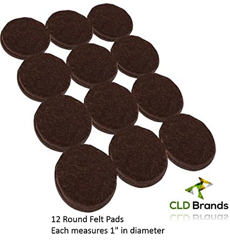 Self Adhesive Black Felt Pads Set 38 Pieces