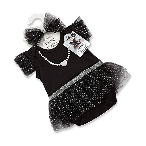 Baby Aspen My First Party Dress with Headband, (Empire Silver Baby Gifts)
