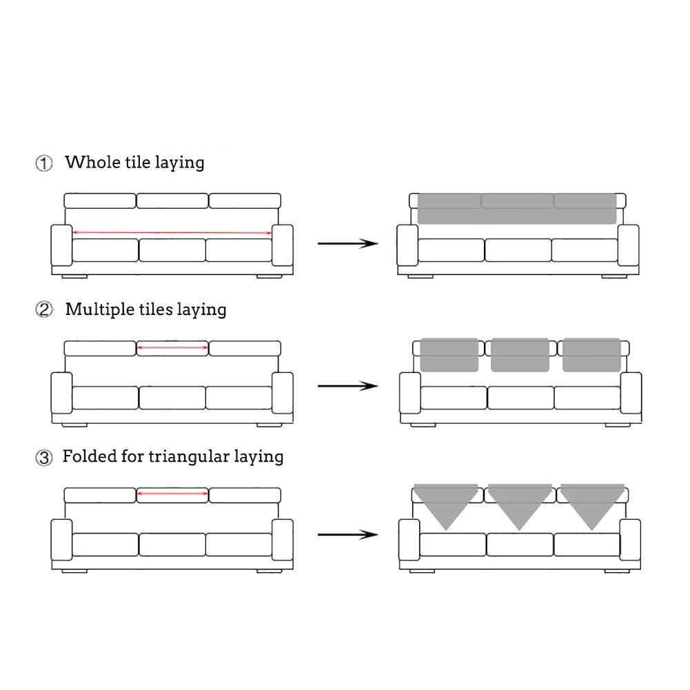Couleur : H, taille : 60x180cm Jacquard anti-dérapant housse de canapé style européen Vintage dentelle Couch Cover meubles protecteur canapé Coussin-Multi-taille canapé serviette Literie et linge de maison Cuisine & Maison