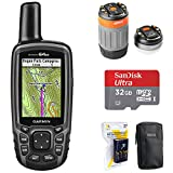 Garmin 010-01199-20 GPSMAP 64st Worldwide Handheld GPS 1 Yr. Subscription Preloaded US Map