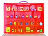 Grossery Gang Carrying Case - Stores Dozens Of Figures- Durable Toy Storage Organizers By Life Made Better - Red