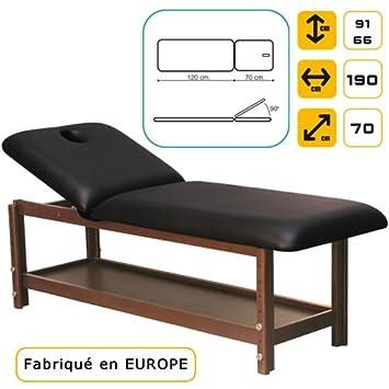 Lettino Per Massaggi In Legno Di Faggio Massello Scuro Amazon It