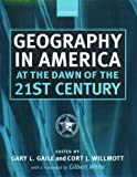 Geography in America at the Dawn of the 21st