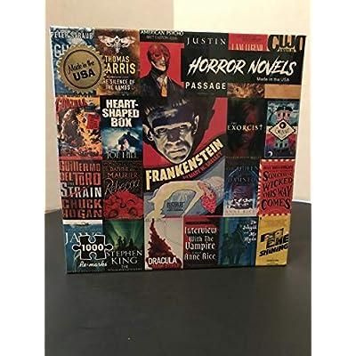 1000 Piece Horror Novel Jigsaw Puzzle: Toys & Games