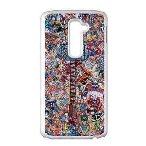 Avengers LG G2 Cell Phone Case White JR5191023