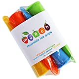 Munch Reusable Ice Pop, Homemade Ice Popsicles, BPA Free, Ice Pop, Reusable, Popsicle, Popsicle molds, set of 4