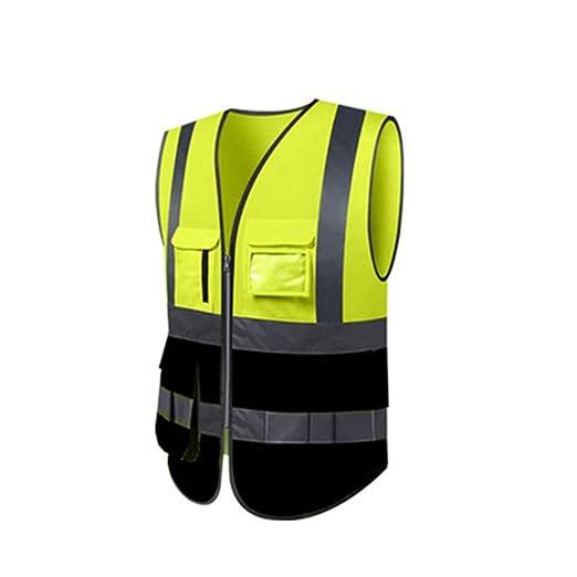 Chaleco de seguridad de alta visibilidad Chaleco reflectante ...
