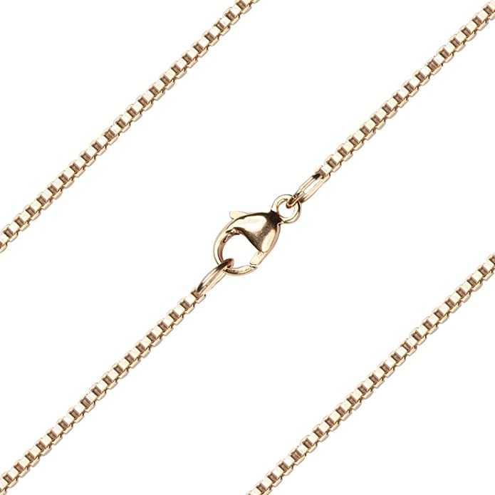 F A Dumont 24 inch 14kt Gold Filled Light Rolo Chain.