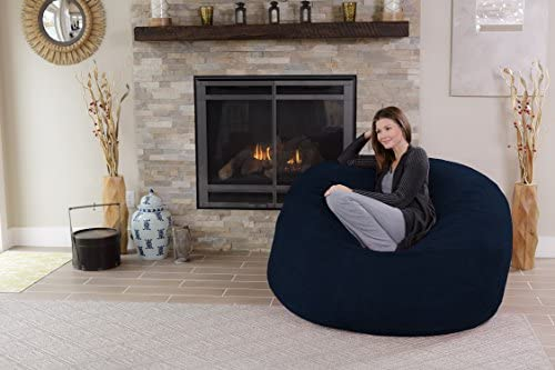 home, kitchen, furniture, game, recreation room furniture,  bean bags 8 image Chill Sack Bean Bag Chair: Giant 5' Memory deals