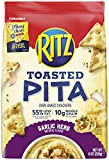 Ritz Toasted Pita Chips, Garlic & Herb, 8 Ounce
