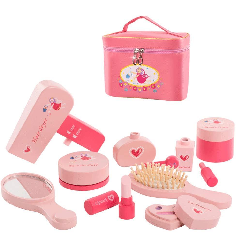 Little Toys Kinderspielzeug Massivholz Simulation Kosmetik Spielzeug Set Kindergarten Mädchen Mädchen Prinzessin Kinder Früherziehung Puzzle Baby Geburtstagsgeschenk Spielzeug (größe : A1)