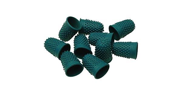 smco calidad Flexible de goma Thimblette verde tama/ño 0/16/mm Cono de dedo dedal