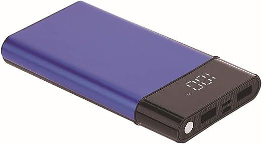 RAPLANC Cargador portátil, Ultra Slim 10000 Mah Power Bank, 2.1A ...