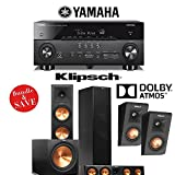 Klipsch Reference Premiere RP-280FA Dolby Atmos 5.1 Home Theater Package with Yamaha RX-A760BL A/V Receiver