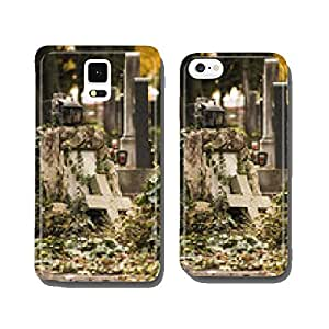 Cemetery in autumn cell phone cover case iPhone6