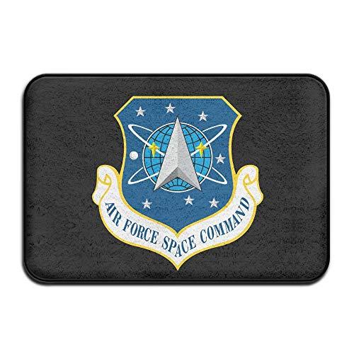 (Air Force Space Command Doormat Door Mats Mats Bathroom Rugs for Indoor Outerdoor Bathroom )