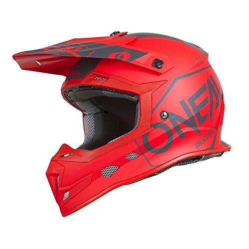 O'Neal - Casco para adulto (talla XS), color negro, Rojo, Large