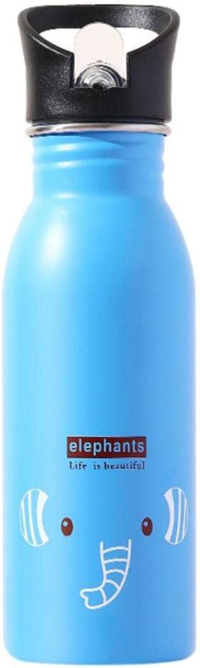 Botella de Agua con Aislamiento al vacío de Acero Inoxidable - Segura para Beber - Diseño de Doble Pared - Botella de Agua Personalizada Linda Botella de Agua fría para niños Estudiante