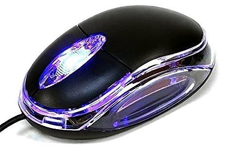 TERABYTE Neon Optical USB Mouse Black Mice
