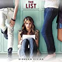 The List Audiobook by Siobhan Vivian Narrated by Madeline Rose