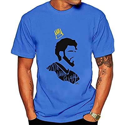 Men's J. Cole Tee shirt SkyBlue