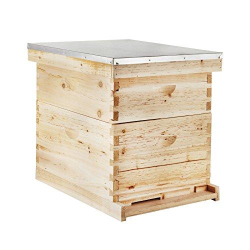 Mophorn Beehive Frames Langstroth Hive Beehive Box Deep Langstroth...