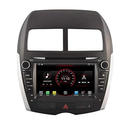 Autosion Android 8.1 Reproductor de DVD de Coche GPS estéreo Unidad Navia Radio Multimedia WiFi para